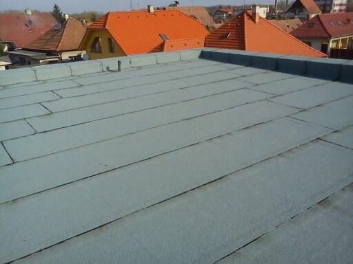 Asfaltové strechy